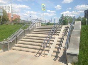 Ограждения лестницы из нержавеющей стали