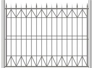Забор сварной, Цена по запросу и Вашим размерам