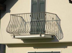 Кованый балкон. Точный расчет по запросу и Вашим размерам