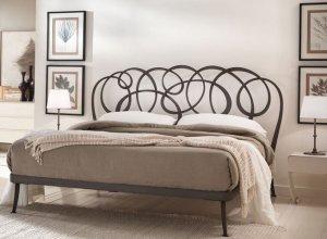 К-712 Кровать ажурная Цена от<del> 43000</del> <strong>42000</strong> руб. Точный расчет по запросу и Вашим размерам