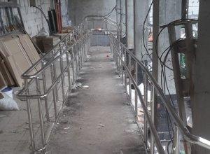 Ограждения пандусов из нержавеющей стали