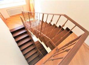 Комбинированная лестница КО-1 Цена по запросу и Вашим размерам