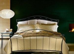 К-700 Кровать кованая Цена от<del> 45000</del> <strong>44000</strong> руб. Точный расчет по запросу и Вашим размерам