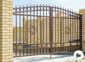 Ворота распашные-прозрачные Цена от 11000 руб. м2. Точный расчет по Вашим размерам и запросу