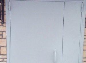 Дверь двухстворчатая, металлическая, входная ДМ-2.Сертифицирована ГОСТ 31173-2003 и ГОСТ 53307-2009 Цена по запросу и Вашим размерам