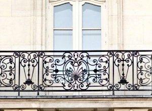 Кованые балконы Б-288. Точный расчет по запросу и Вашим размерам