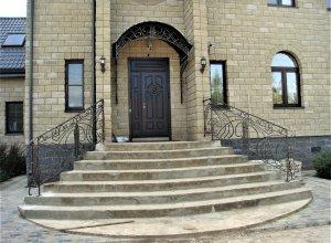 К-4(1) Козырек кованый над входом
