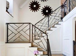 Перила для лестницы сварные