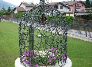 Кованая арка для цветов от<del> 75000</del> <strong>74000</strong> руб.