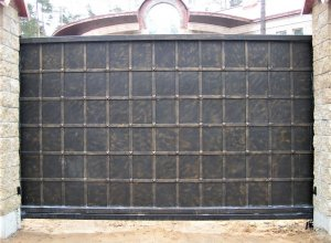 Ворота кованые В-1 Цена от 5500 руб.м.п. Точный расчет по Вашим размерам и запросу