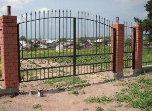 Ворота облегченные кованые, Цена от 5000 руб. м2. Точный расчет по Вашим размерам и запросу