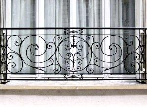 Кованый балкон К,Точный расчет по запросу и Вашим размерам
