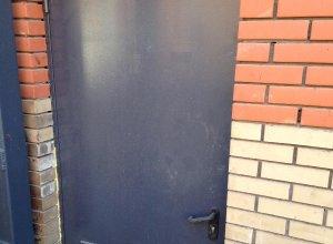 Дверь техническая-противопожарная с уровнем огнестойкости EI-60.Сертифицирована ГОСТ 31173-2003 и ГОСТ 53307-2009 Цена по запросу и Вашим размерам