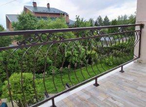 Кованый Балкон с пузатой частью