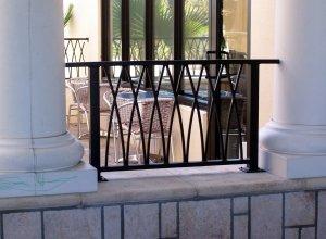 Кованые балконы. Точный расчет по запросу и Вашим размерам