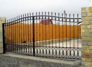 Кованые ворота на просвет, Цена от 5000 руб. м2. Точный расчет по Вашим размерам и запросу