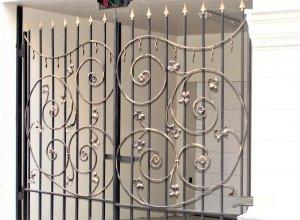 Ворота кованые В-4 Цена по запросу и Вашим размерам